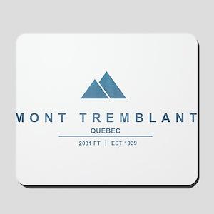 Mont Tremblant Ski Resort Quebec Mousepad