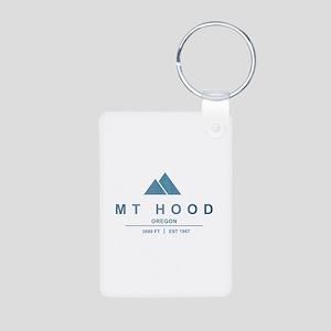 Mt Hood Ski Resort Oregon Keychains