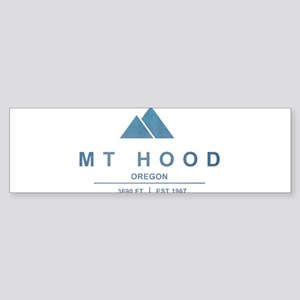 Mt Hood Ski Resort Oregon Bumper Sticker