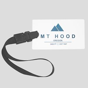 Mt Hood Ski Resort Oregon Luggage Tag