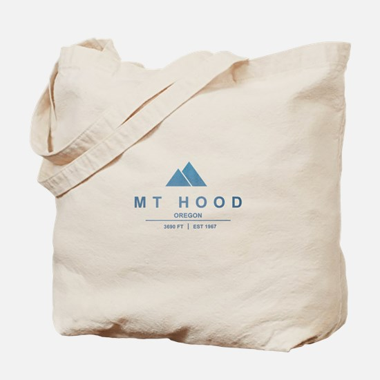 Mt Hood Ski Resort Oregon Tote Bag