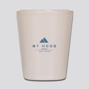 Mt Hood Ski Resort Oregon Shot Glass