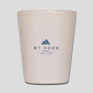 Mt Hood Ski Resort Oregon Shot Glass