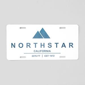 Northstar Ski Resort California Aluminum License P