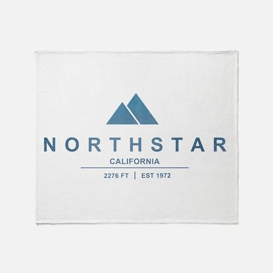 Northstar Ski Resort California Throw Blanket