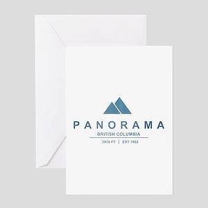 Panorama Ski Resort British Columbia Greeting Card