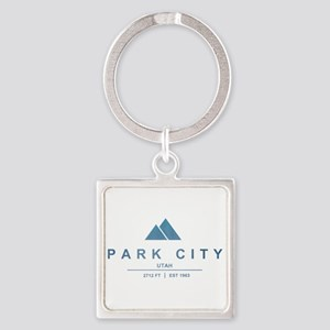 Park City Ski Resort Utah Keychains