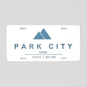 Park City Ski Resort Utah Aluminum License Plate
