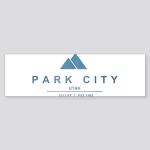 Park City Ski Resort Utah Bumper Sticker