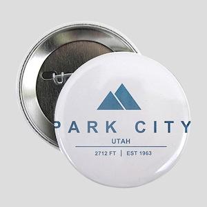 "Park City Ski Resort Utah 2.25"" Button"