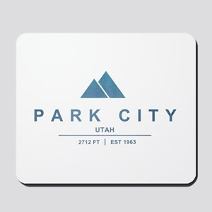 Park City Ski Resort Utah Mousepad