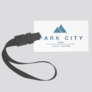 Park City Ski Resort Utah Luggage Tag