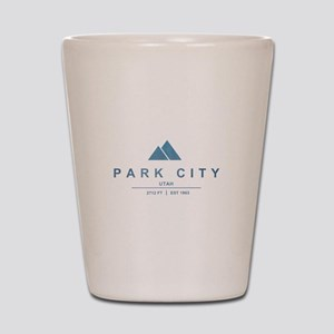 Park City Ski Resort Utah Shot Glass