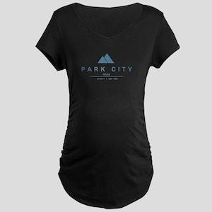 Park City Ski Resort Utah Maternity T-Shirt