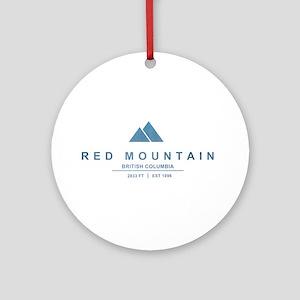 Red Mountain Ski Resort British Columbia Ornament