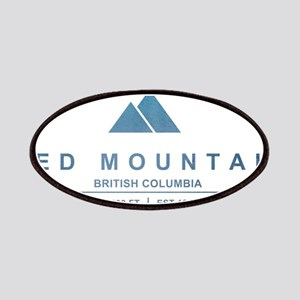 Red Mountain Ski Resort British Columbia Patches