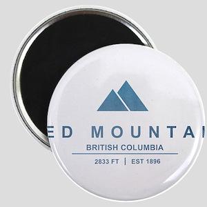 Red Mountain Ski Resort British Columbia Magnets