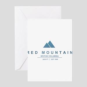 Red Mountain Ski Resort British Columbia Greeting
