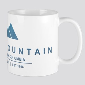 Red Mountain Ski Resort British Columbia Mugs