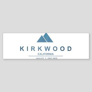 Kirkwood Ski Resort California Bumper Sticker