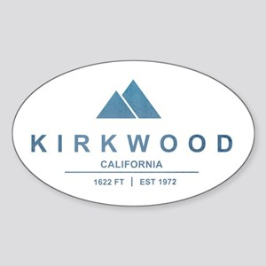 Kirkwood Ski Resort California Sticker