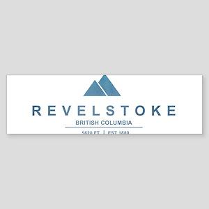 Revelstoke Ski Resort British Columbia Bumper Stic