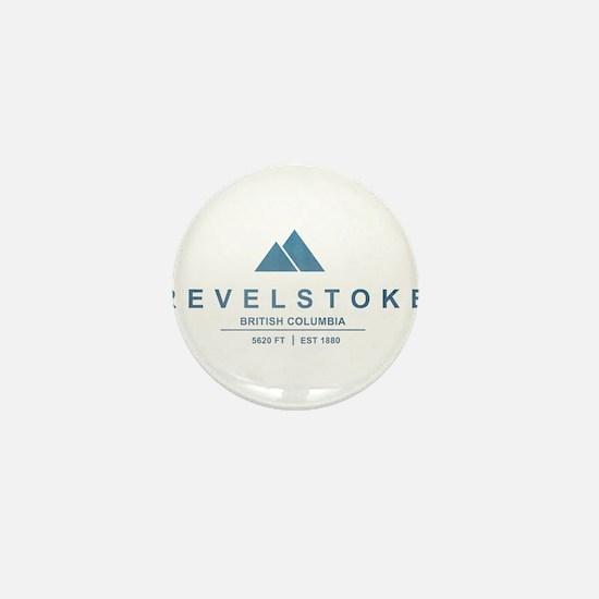 Revelstoke Ski Resort British Columbia Mini Button