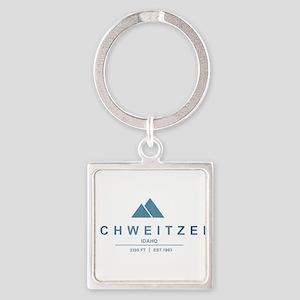 Schweitzer Ski Resort Idaho Keychains