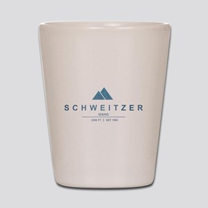 Schweitzer Ski Resort Idaho Shot Glass