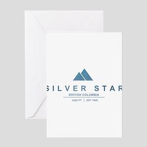Silver Star Ski Resort British Columbia Greeting C