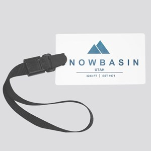 Snowbasin Ski Resort Utah Luggage Tag