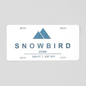 Snowbird Ski Resort Utah Aluminum License Plate