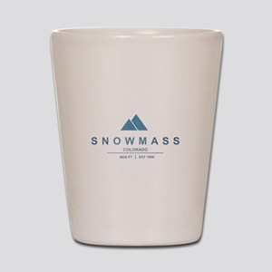 Snowmass Ski Resort Colorado Shot Glass