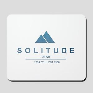 Solitude Ski Resort Utah Mousepad