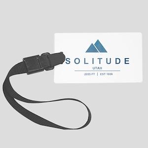 Solitude Ski Resort Utah Luggage Tag
