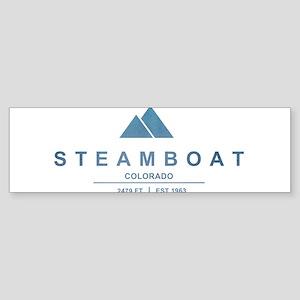 Steamboat Ski Resort Colorado Bumper Sticker