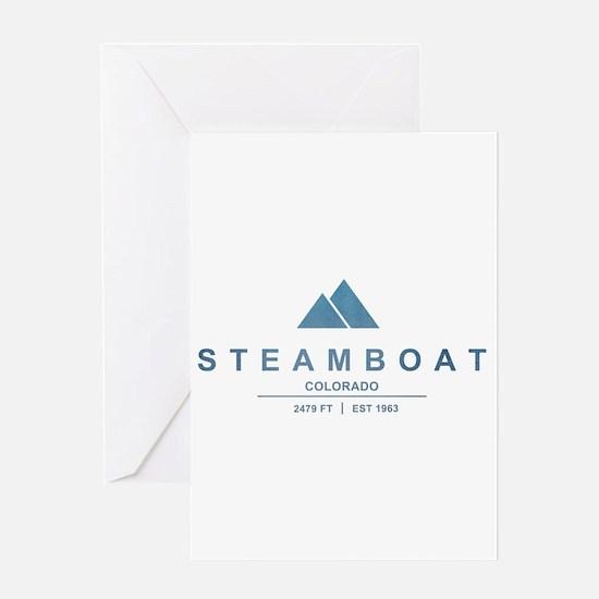 Steamboat Ski Resort Colorado Greeting Cards