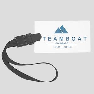 Steamboat Ski Resort Colorado Luggage Tag