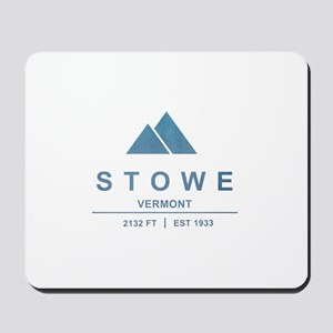 Stowe Ski Resort Vermont Mousepad