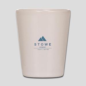 Stowe Ski Resort Vermont Shot Glass