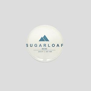 Sugarloaf Ski Resort Maine Mini Button
