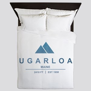 Sugarloaf Ski Resort Maine Queen Duvet