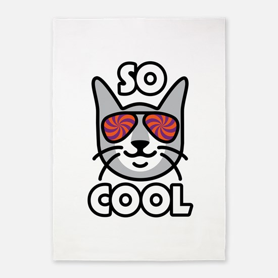 So Cool Cat 5'x7'area Rug