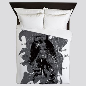 St. Michael: Protection Queen Duvet