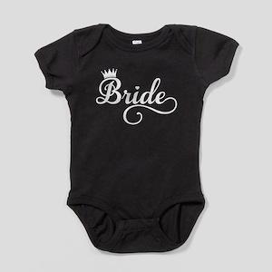 Bride white Baby Bodysuit