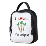 I Love Parsnips Neoprene Lunch Bag