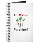 I Love Parsnips Journal