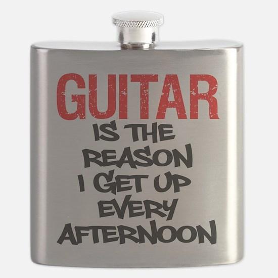 Guitar Reason I Get Up Flask