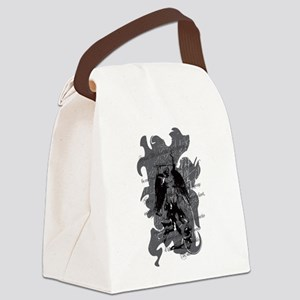 St. Michael: Protection Canvas Lunch Bag