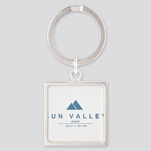 Sun Valley Ski Resort Idaho Keychains